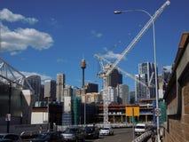 Sydney cityscape Royalty Free Stock Images