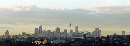Sydney cityscape panorama Stock Image