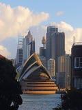 Sydney cityscape view Stock Photos