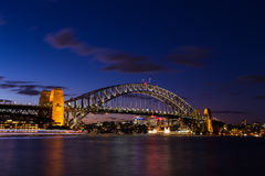 Sydney cityscape view at twilight Stock Image