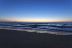 Sydney coastline, dawn Stock Photo
