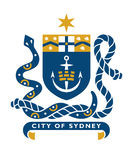 Sydney coat of arms stock photos