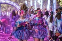 Sydney Color Run Royaltyfri Fotografi