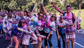Sydney Color Run Royaltyfria Bilder