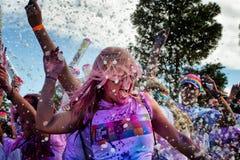 Sydney Color Run Fotografering för Bildbyråer