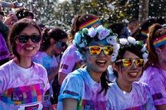 Sydney Color Run Royaltyfri Foto