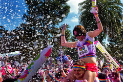 Sydney Color Run Stockfotos