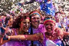 Sydney Color Run Arkivfoton