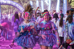 Sydney Color Run Royalty Free Stock Photography
