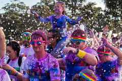 Sydney Color Run Royalty Free Stock Images
