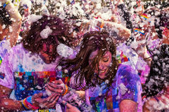Sydney Color Run Stock Photography