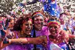 Sydney Color Run stock photos