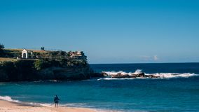 Sydney, Coogee Beach royalty free stock image