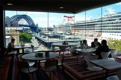 Sydney Cove Passenger Terminal New Zuid-Wales Australië stock foto's