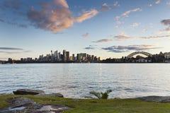 Sydney Cremorne Grass Imagen de archivo libre de regalías