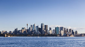 Sydney Cremorne panorama zdjęcie stock