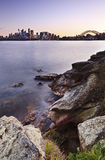 Sydney Cremorne Vertical Sunset Stock Photography