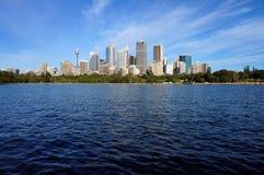 Sydney dalla baia del Watson Fotografia Stock Libera da Diritti