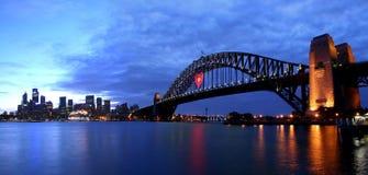 Sydney dans l'amour Photos stock