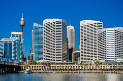Sydney, Darling Harbor Royalty Free Stock Photos