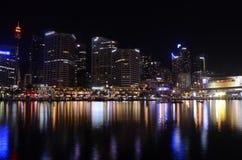 Sydney Darling Harbour Skyline Lizenzfreies Stockfoto