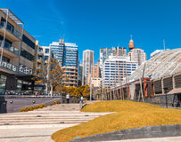 Sydney Darling Harbour skyline on a beautiful day Stock Image