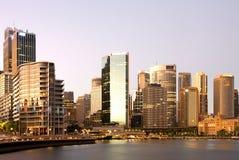 Sydney in Dawn Royalty-vrije Stock Afbeelding