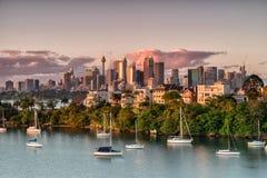 Sydney de la bahía de Mosman imagen de archivo