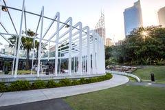 SYDNEY - 12 de octubre: El cáliz en Sydney Royal Botanic Garden el 12 de octubre de 2017 en Sydney, Australia Foto de archivo