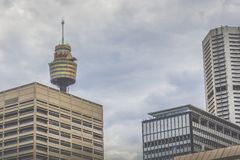 SYDNEY - 27 DE OCTUBRE: Sydney Tower el 27 de octubre de 2015 en Sydney, Fotografía de archivo libre de regalías
