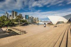 SYDNEY - 27 DE OCTUBRE: Teatro de la ópera el 27 de octubre de 2015 en Sydney Fotografía de archivo libre de regalías
