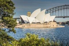 SYDNEY - 27 DE OCTUBRE: Teatro de la ópera el 27 de octubre de 2015 en Sydney Imagenes de archivo