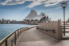 SYDNEY - 27 DE OCTUBRE: Teatro de la ópera el 27 de octubre de 2015 en Sydney Imagen de archivo libre de regalías