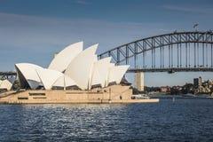 SYDNEY - 27 DE OCTUBRE: Teatro de la ópera el 27 de octubre de 2015 en Sydney Foto de archivo libre de regalías