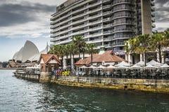 SYDNEY - 27 DE OCTUBRE: Teatro de la ópera el 27 de octubre de 2015 en Sydney Fotos de archivo