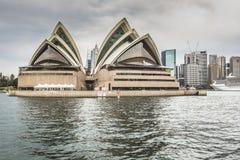 SYDNEY - 27 DE OCTUBRE: Teatro de la ópera el 27 de octubre de 2015 en Sydney Fotos de archivo libres de regalías