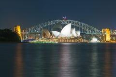 SYDNEY - 12 DE OUTUBRO DE 2015: Sydney Opera House icônico é uma MU Imagem de Stock