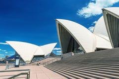 SYDNEY - 12 DE OUTUBRO DE 2015: Sydney Opera House icônico é uma MU Foto de Stock Royalty Free