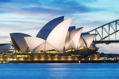 SYDNEY - 12 DE OUTUBRO DE 2015: Sydney Opera House icônico é uma MU Imagens de Stock