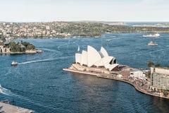 SYDNEY - 12 DE OUTUBRO DE 2015: Sydney Opera House icônico é uma MU Fotos de Stock