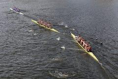 Sydney (derecha), el equipo de Stanford University Men (medio), Washington (superior) compite con en el jefe del campeonato de Ch Fotos de archivo