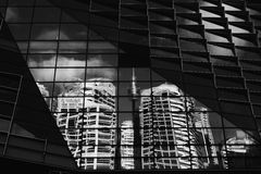 Sydney Distorted - Sydney CBD and Centrepoint Tower Royalty Free Stock Photo