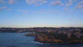 Sydney east coast stock footage