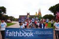 Sydney Easter Parade-Glaube lizenzfreies stockfoto