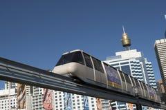 Sydney-Einschienenbahn lizenzfreies stockfoto