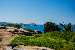 Sydney: el paseo costero entre la playa de Bondi y Coogee vara Imagenes de archivo