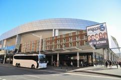 Sydney Entertainment Centre, een multifunctionele die arena in Haymarket wordt gevestigd royalty-vrije stock fotografie