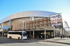 Sydney Entertainment Centre, a multi-purpose arena located in Haymarket. royalty free stock photography