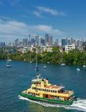 Sydney-Fähren Lizenzfreies Stockfoto