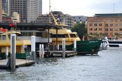 Sydney-Fähren Lizenzfreie Stockfotografie
